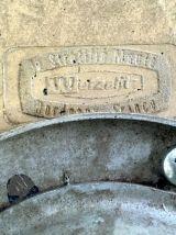 Tabouret industriel – Werzalit – circa 70