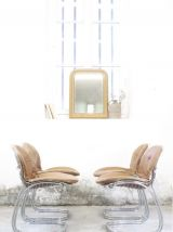 4 chaises Gastone Rinaldi - modèle Sabrina