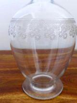 Carafe à Vin Cristal BACCARAT Pompadour 1 Litre Année 1916