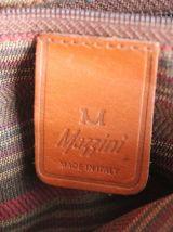 Sac en cuir grainé cognac Mazzini
