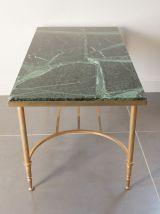 Table basse en marbre vert