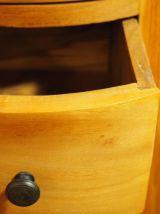 Chiffonnier circulaire à cinq tiroirs