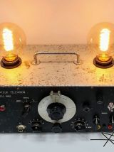 """Lampe industrielle, lampe vintage - """"Génération Télé"""""""