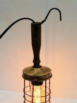 """Lampe murale vintage, applique industrielle -  """"La Baladeuse"""