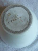 Gros mortier et son pilon porcelaine