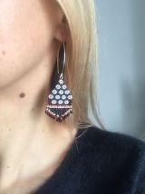 Boucles d'oreilles perlesinspiration slave