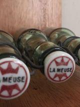 """Ensemble de 3 bouteilles """"La Meuse"""""""