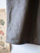 Jupe en cuir made in France Vintage