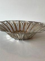 Coupelle ou corbeille en métal argenté