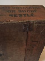 Coffre en bois, fabrication artisanale, rangement