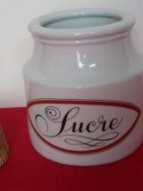 Pot à sucre Porcelaine d'Auteuil