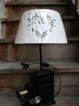 "LAMPE A POSER RECUP' ""LANTERNE MAGIQUE"""