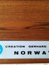 Enfilade scandinave Gerhard Berg vintage