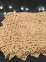 Plaid carré / nappe / couverture