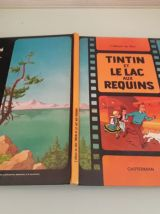 LOT DE 5 bandes dessinées TINTIN  reedition 1966