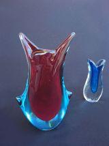 Deux vases Murano - années 1960