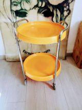 Desserte orange vintage 70'S