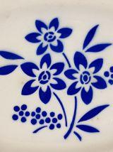 Ravier ancien demi-porcelaine de Badonviller