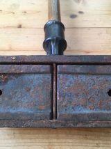 Cireuse parquet en fonte Normandie butée de porte