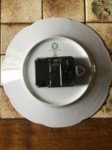 Pendule  assiette kiple