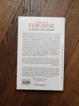 La Porte Des Larmes- Abraham Verghese