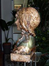 Sculpture plâtre années 1900