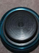 Pot Lever en verre bleu turquoise