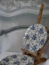 porcelaine anglaise Royal Tudor Grndley 2 assiettes à desser