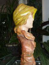 Sculpture plâtre années 1900 signé MORIN