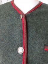 Veste femme Autrichienne marque Giesswein T40 pure laine bou