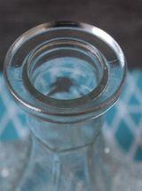 "Carafe en verre cristal Wexford motif ""criss cross"""