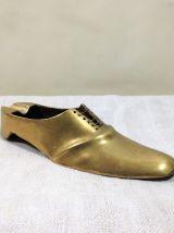 Cendrier chaussure en laiton - Vintage