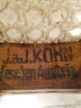 Fauteuil JJ Kohn signé