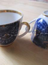 2 tasse à thé anciennes  en porcelaine USSR