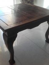 Table ancienne style chippendael en bois