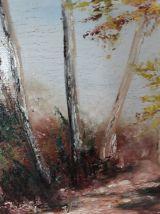 Tabeau-Peinture à l'huile - Original signé