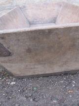 Ancienne caisse bois vigneron