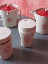 Lot de 7  tupperware made in France   vintage  70/80