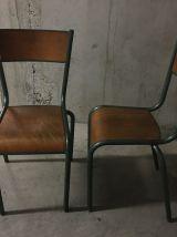Paire de chaises Mullca 510