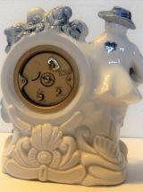 Horloge à poser OTA porcelaine japonaise vintage