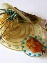 Broche - création artisanale JPM´CREATIONS