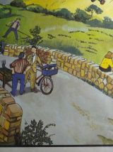 Affiches d'école vintage