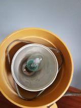 lampes diabolo d'atelier vintage Armélec en bakélite marron