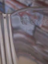 Saladier ancien en verre marque CODEC ARCOROC