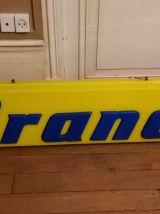 Enseigne publicitaire lumineuse vintage Brandt
