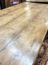 Table de ferme fin XIXème en sapin