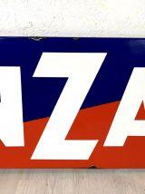 Grande plaque émaillée CINZANO années 40