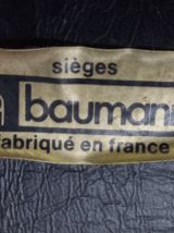 6 Chaises Baumann traineau