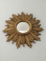 Miroir soleil dore annees 60/70