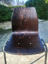6 chaises Pagholz 1960